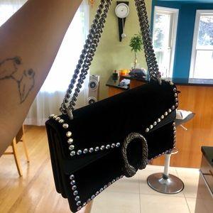 Gucci Bags - Gucci NWT Handbag w Crystals and Horsebit